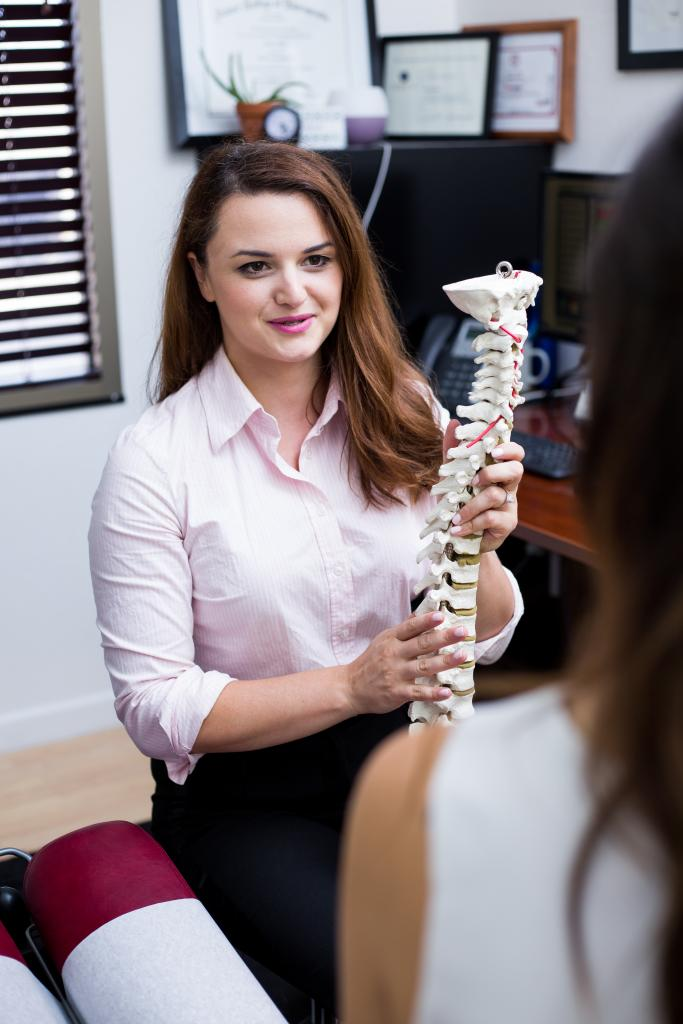 Dr. Ledia Mati, a lead chiropractor in Campbell.