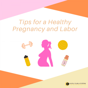 Tips for a healthy pregnancy and labor